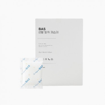 [BAS] 생활 탈취 제습제 콤팩트형 (20g x 10개)