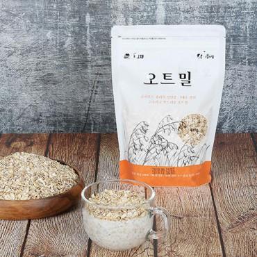 [콩사랑] 오트밀(볶아누른 귀리) 400g x 2봉