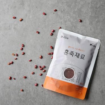 [콩사랑] 혼죽 재료 팥죽 250g x 3봉