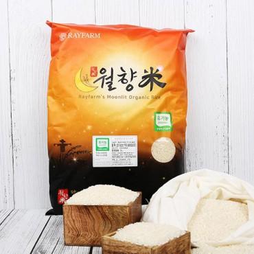 [월향미] 유기농 골든퀸3호 백미 5kg (2020년 산)
