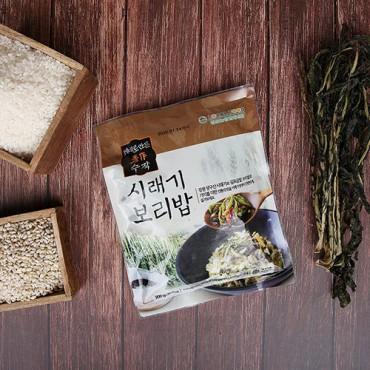 제대로 만든 수작 시래기 보리밥