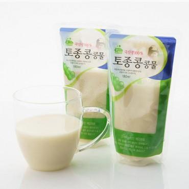 [함씨네토종콩식품] 토종콩 콩물 180ml x 3개