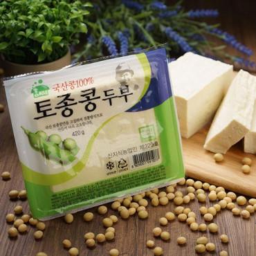 [함씨네토종콩식품] 토종콩 두부 420g x 2팩
