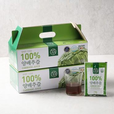 [자람푸드] 착한톡톡 양배추즙 2박스