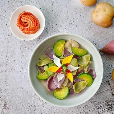 [네니아] 우리밀 삼색 수제비 500g / 1kg