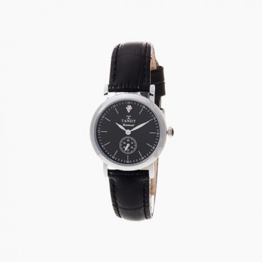 [탠디] 다이아몬드 시계 DIA-1902F BK (여성용/블랙)