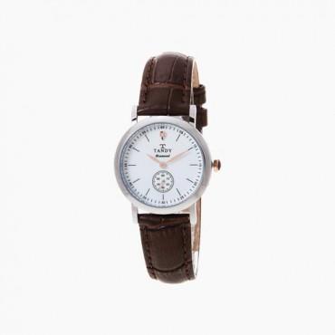 [탠디] 다이아몬드 시계 DIA-1902F BR (여성용/브라운)