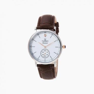 [탠디] 다이아몬드 시계 DIA-1902M BR (남성용/브라운)