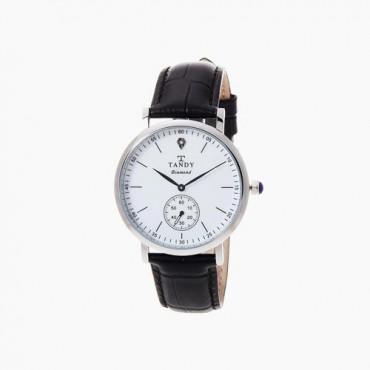 [탠디] 다이아몬드 시계 DIA-1902M WH (남성용/블랙)