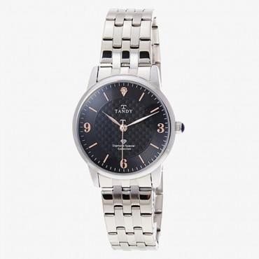 [탠디] 다이아몬드 시계 T-3913 M BK(남성용)