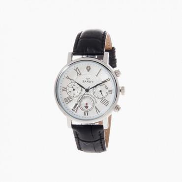[탠디] 프린스 다이아몬드 가죽 시계 T-1901 WH (남성용)