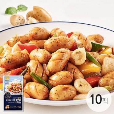 [굽네] 닭가슴살 비엔나 마늘 100g 10팩