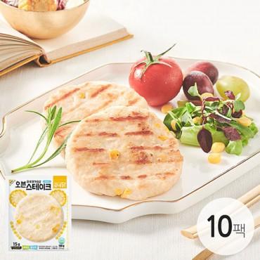 [굽네] 탱글탱글 오븐 스테이크 콘맛 100g 10팩