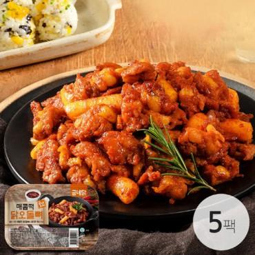 [굽네] 포차 매콤떡 닭오돌뼈 150g 5팩