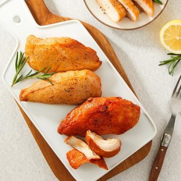 [굽네] 오통닭 10팩 (오리지널 5팩 + 매콤 바베큐 5팩) + 볼케이노 소스 1개