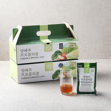[자람푸드] 착한톡톡 양배추 브로콜리즙 2박스